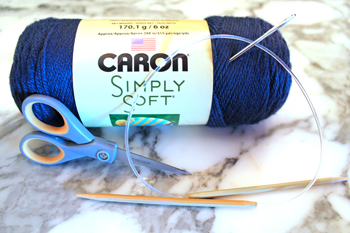 Learn to knit with @PurlsAndPixels Step 1: Get knitting materials for beginners