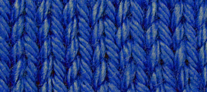 How to Make the Knit Stitch