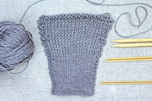 Learn to Knit: How to Make a Gauge Swatch, knitting gauge matters