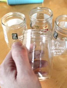 Remove Labels from Beechnut Baby Food Jars