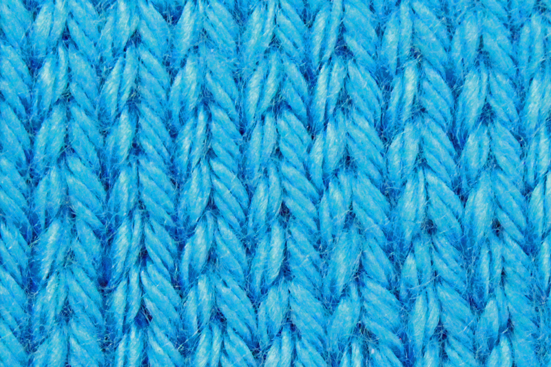 Learn to Knit Step 9: Following knitting patterns, stockinette stitch