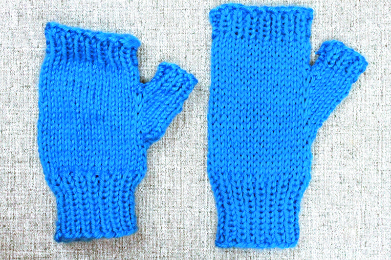 Learn to Knit, Step 8: Blocking your Knits