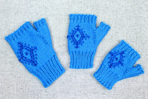 Knitting Pattern: Anna Fingerless Mittens inspired by Frozen