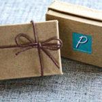 PurlsAndPixels gift box for pixel earrings