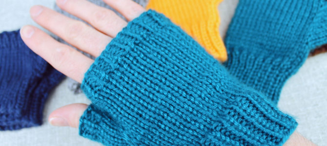 Basic Fingerless Gloves