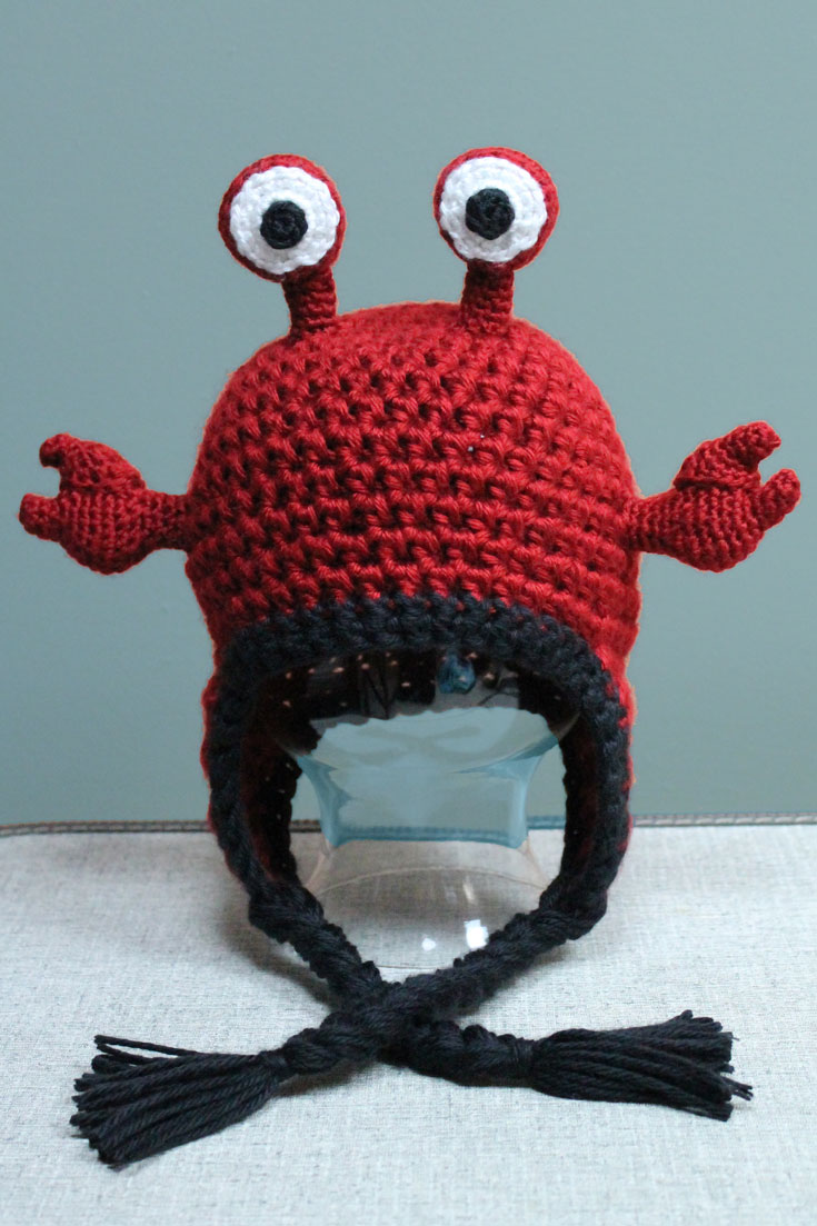 Hermit Crab Hat A Crochet Animal Hat By Purlsandpixels