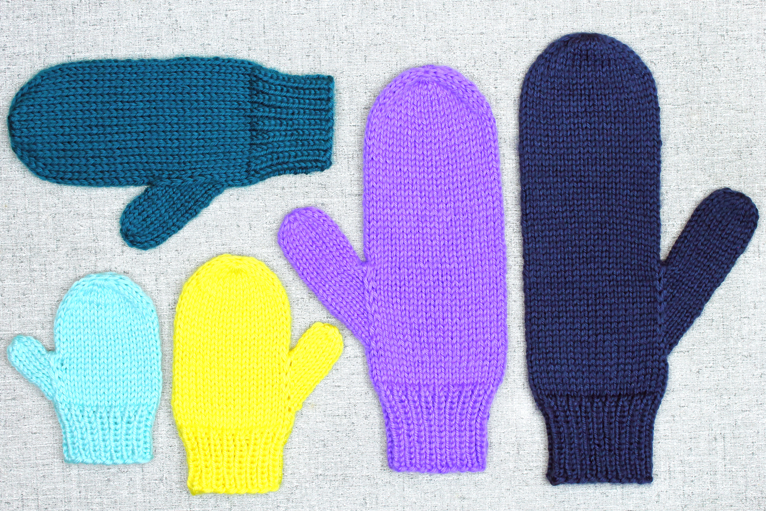 Knitting Pattern For Basic Mittens : Home - Handmade Accessories by PurlsAndPixels