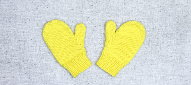 Basic Knit Mittens