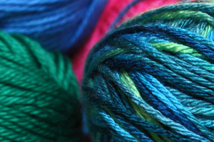 Knitting Materials For Beginners : Knitting materials choosing yarn needles for