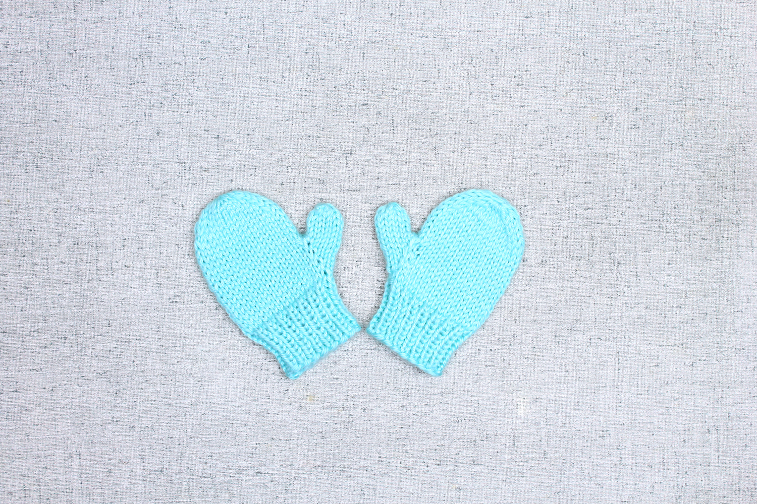 how to make baby mittens