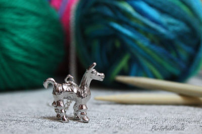 Alpaca Necklace, gift idea for knitter from Liz @PurlsAndPixels