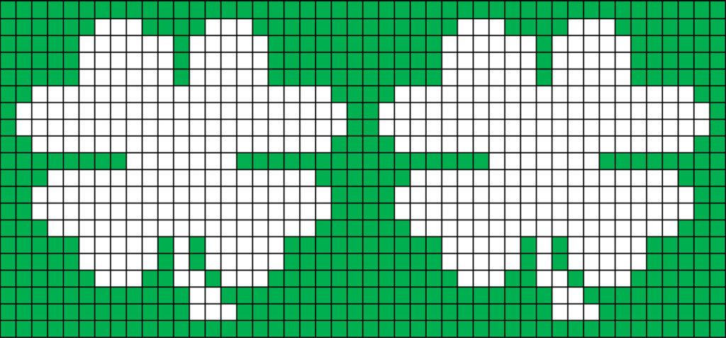 Knitting Chart No Stitch : Lucky clover cozy free knitting pattern purlsandpixels
