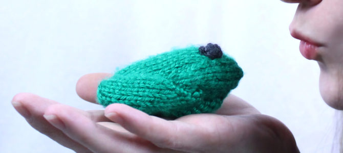 Little Frog Free Knitting Pattern