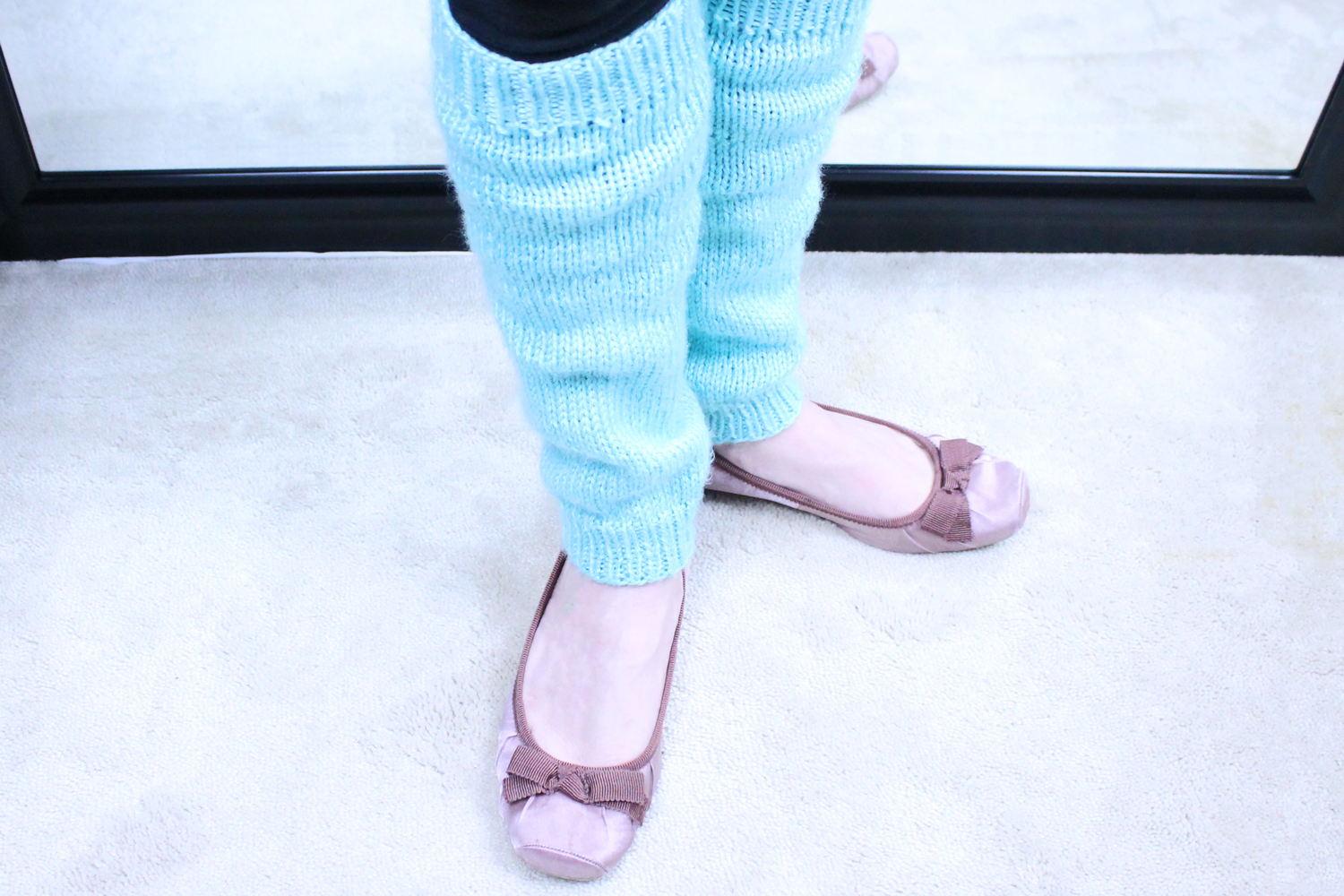 Simple Knit Leg Warmers