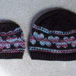 Heart hat knitting pattern in sizes baby to adult from Liz @PurlsAndPixels