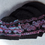 Heart hat knitting pattern in four sizes from Liz @PurlsAndPixels