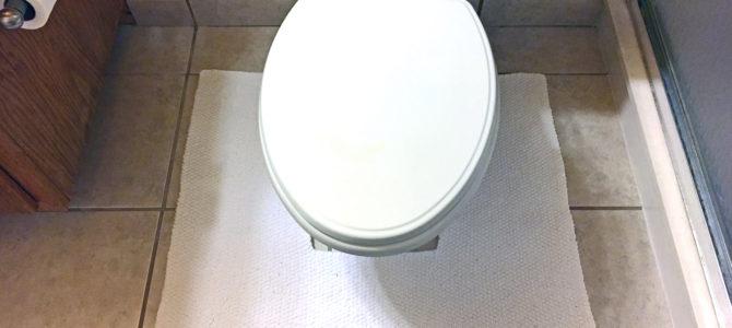 Toilet Contour Rug & Bath Mat Free Knitting Pattern