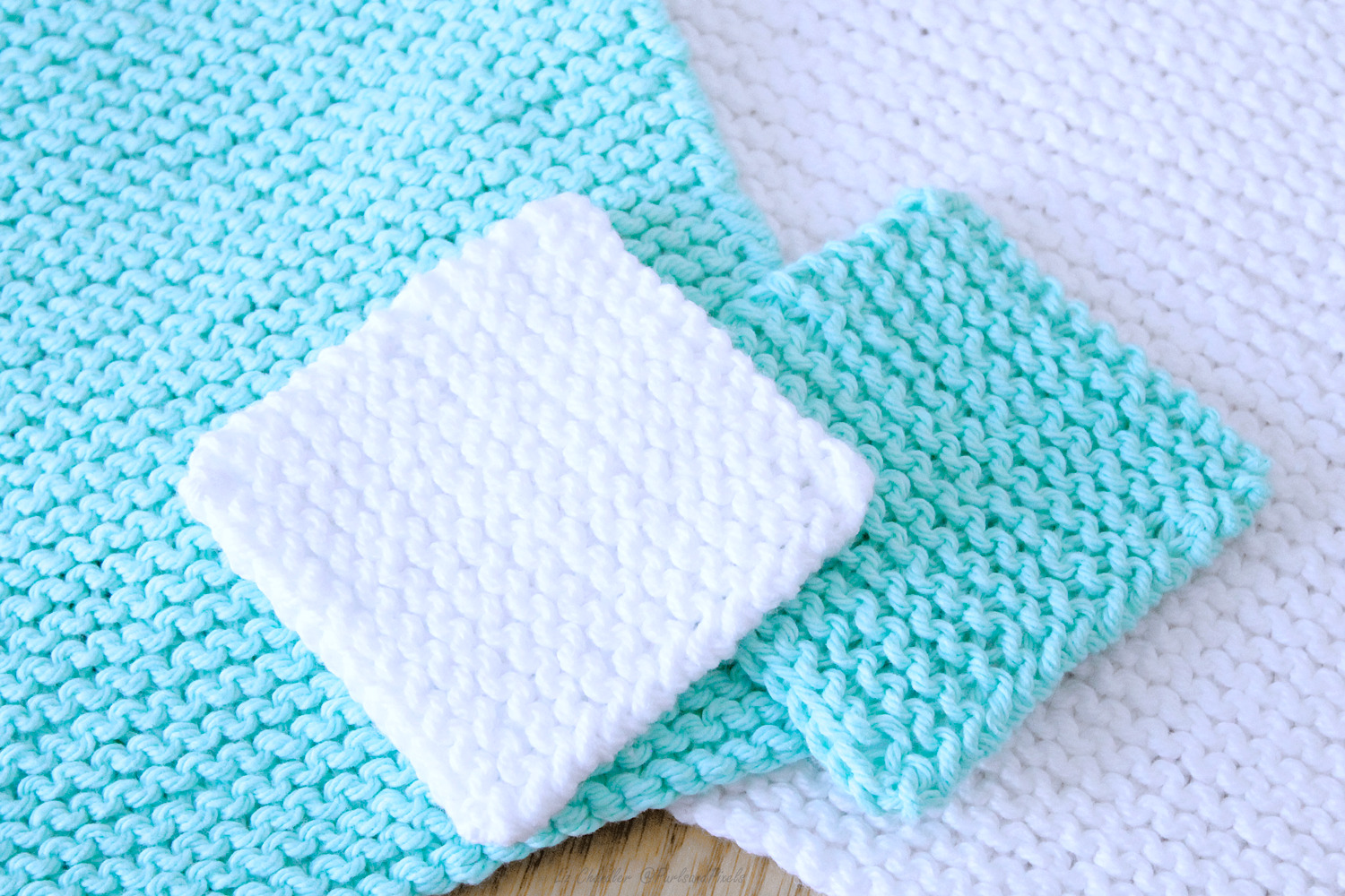 Beginner Face Scrubby Free Knitting Pattern