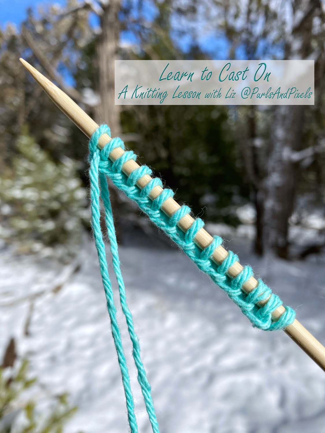 How to Cast On Knitting Stitches
